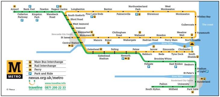 Metro Map third A4
