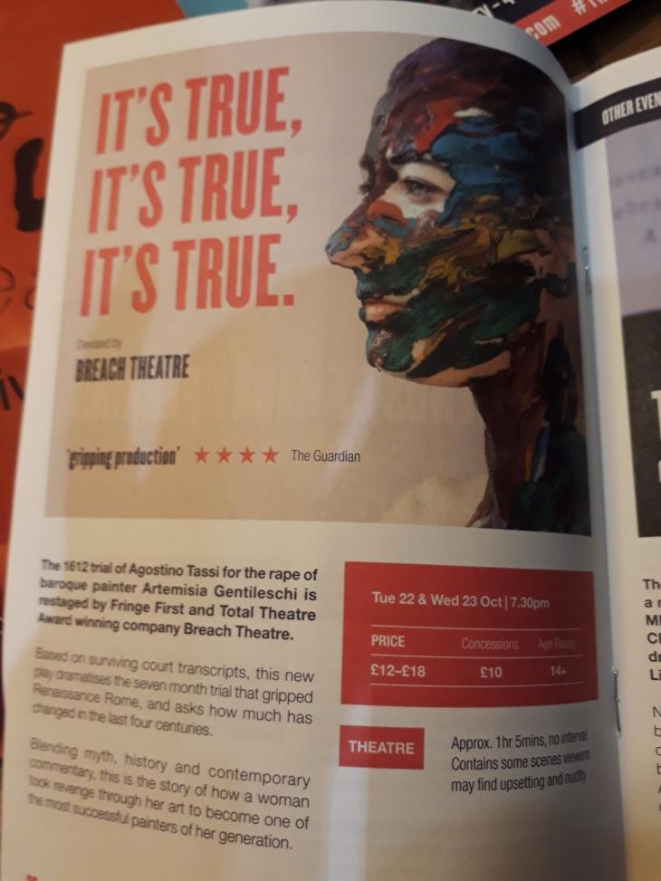 Live Theatre New Season Launch | ProdigalGeordie